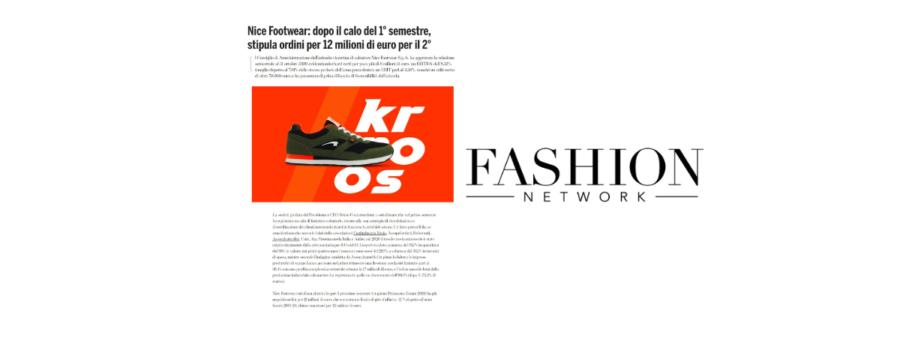 Articolo Fashion Network Bilancio di Sostenibilità Nice Footwear