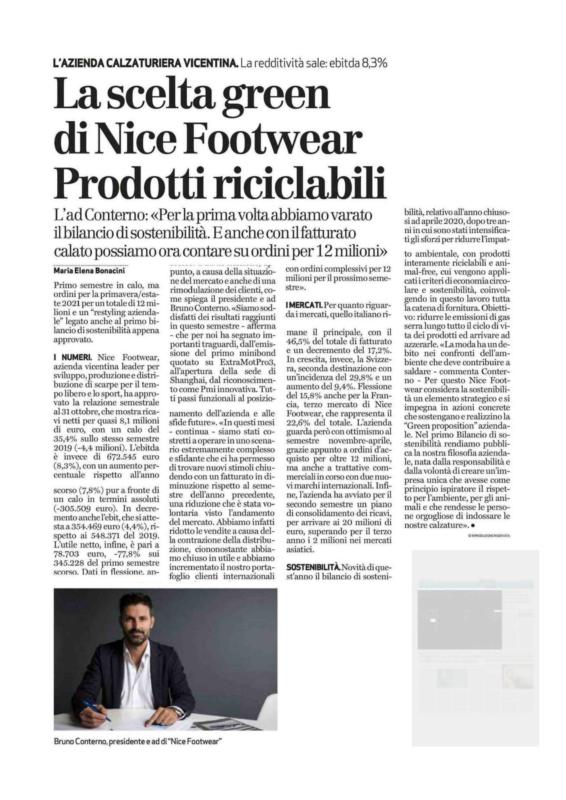 Giornale di Vicenza Nice Footwear