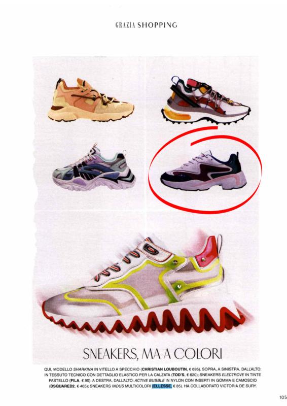 Nice Footwear Ellesse on Grazia