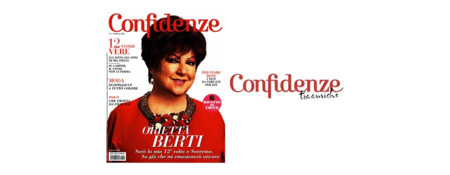 Conte of Florence su Confidenze 19.01.2021
